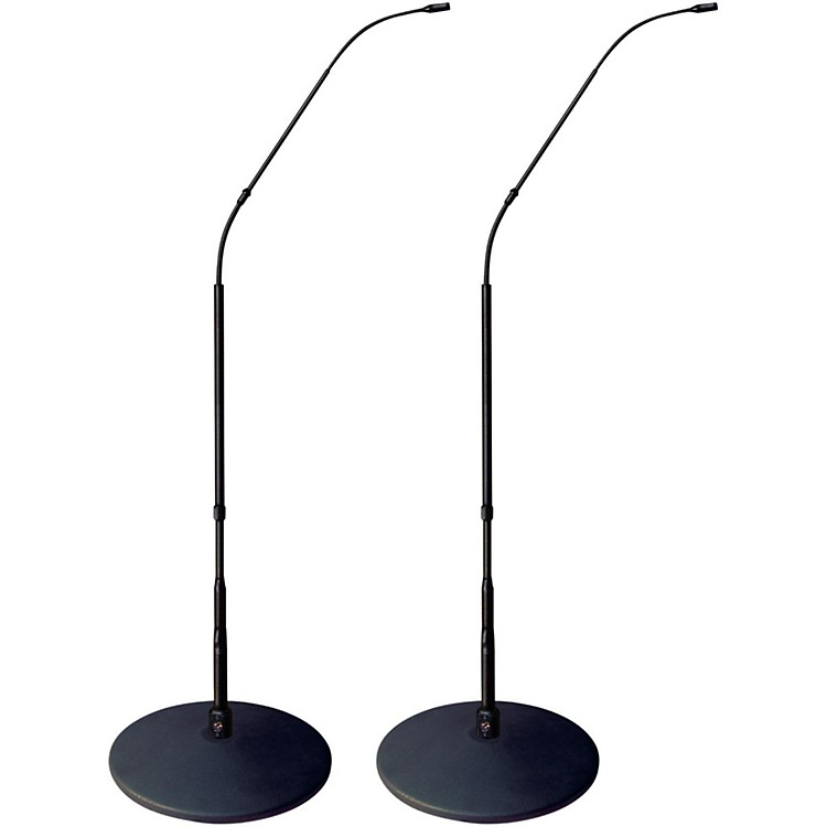 Earthworks FlexWand FW430 with Cast-Iron Base Matched Pair Black