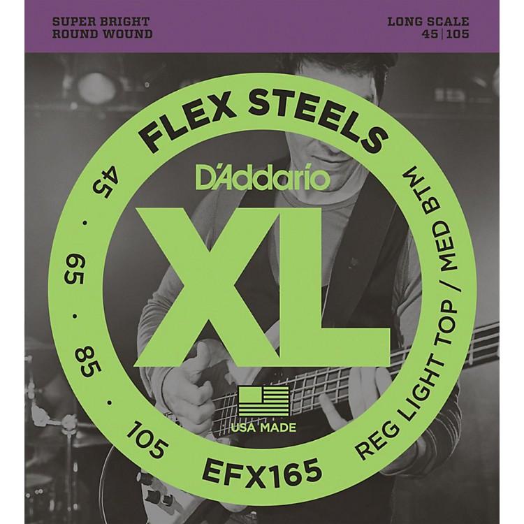 D'AddarioFlexsteels Long Scale Bass Guitar Strings (45-105)