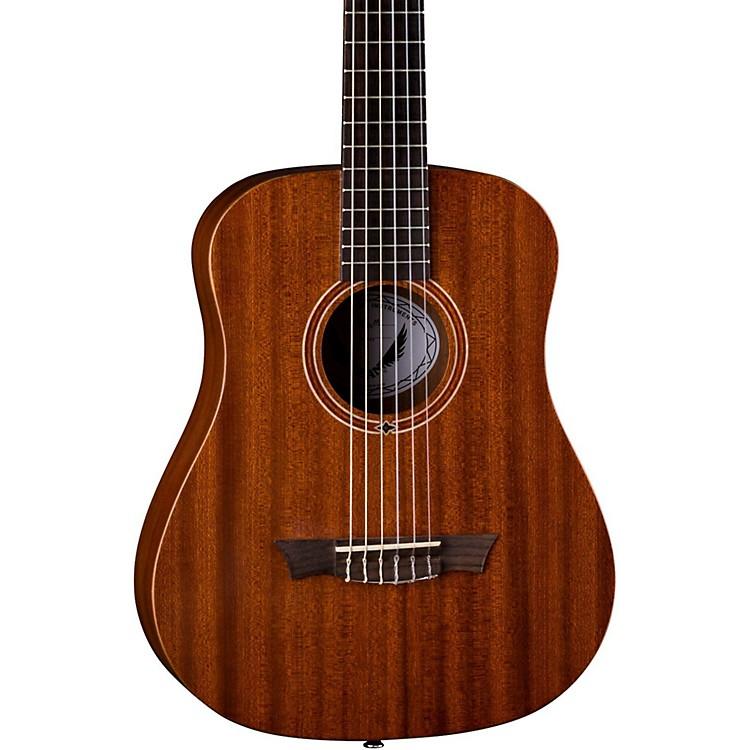 DeanFlight Nylon Satin Mahogany Travel GuitarNatural
