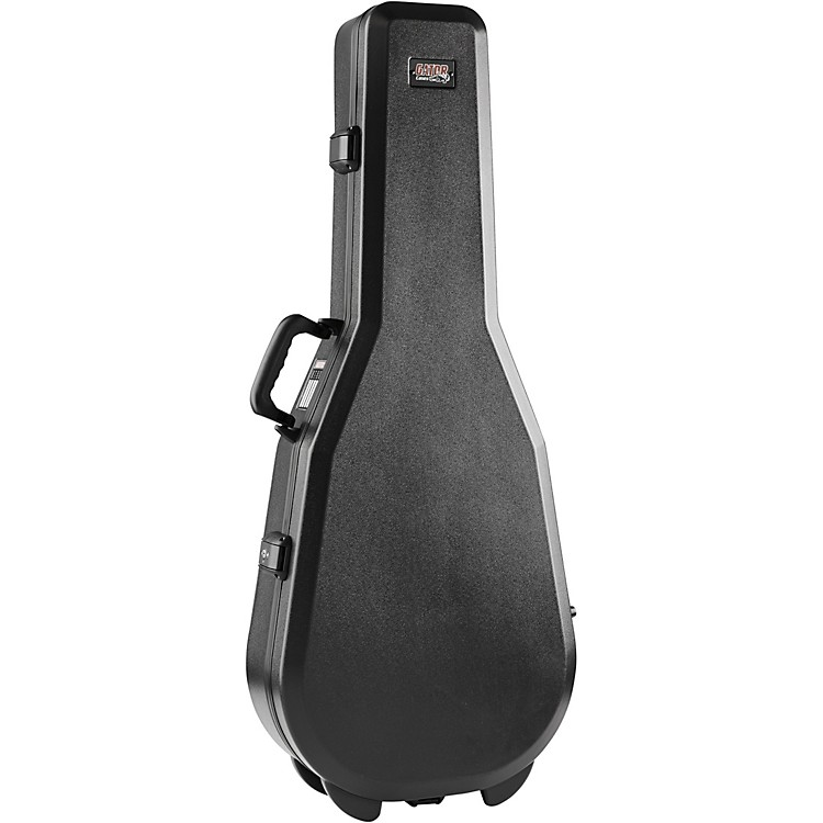 Gator Flight Pro TSA Series ATA Molded Acoustic Guitar Case Black