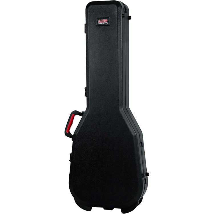 Gator Flight Pro TSA Series ATA Molded Gibson SG Guitar Case Black Red