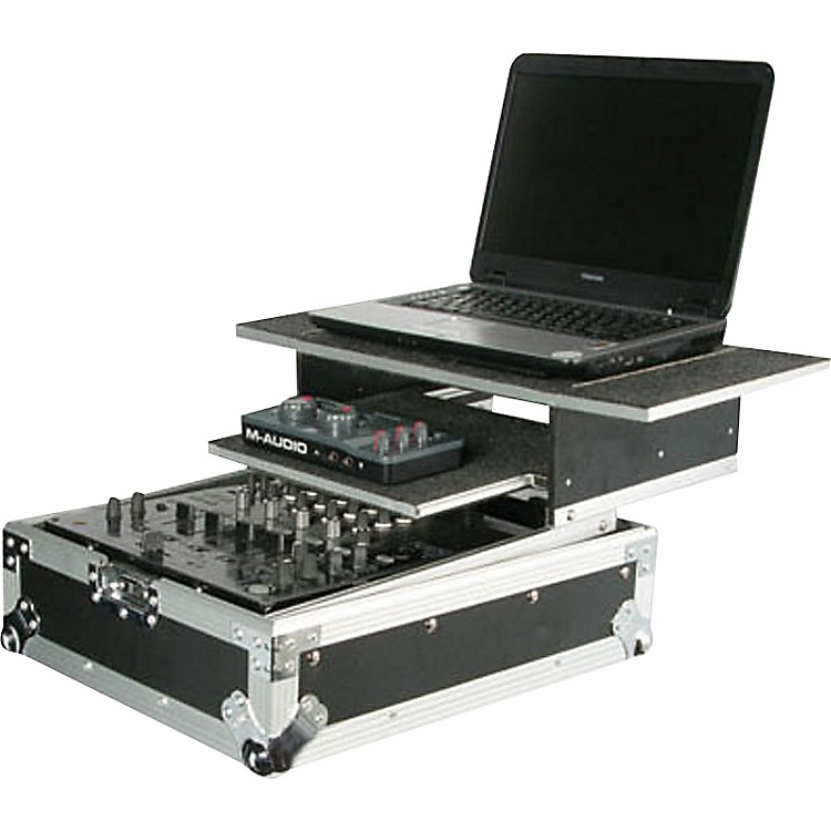 OdysseyFlight Zone Glide Style Combo DJ Mixer Case