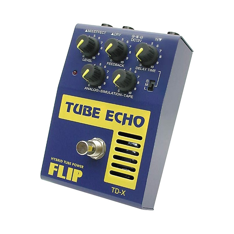 Guyatone Flip Series TD-X Tube Echo Guitar Effects Pedal