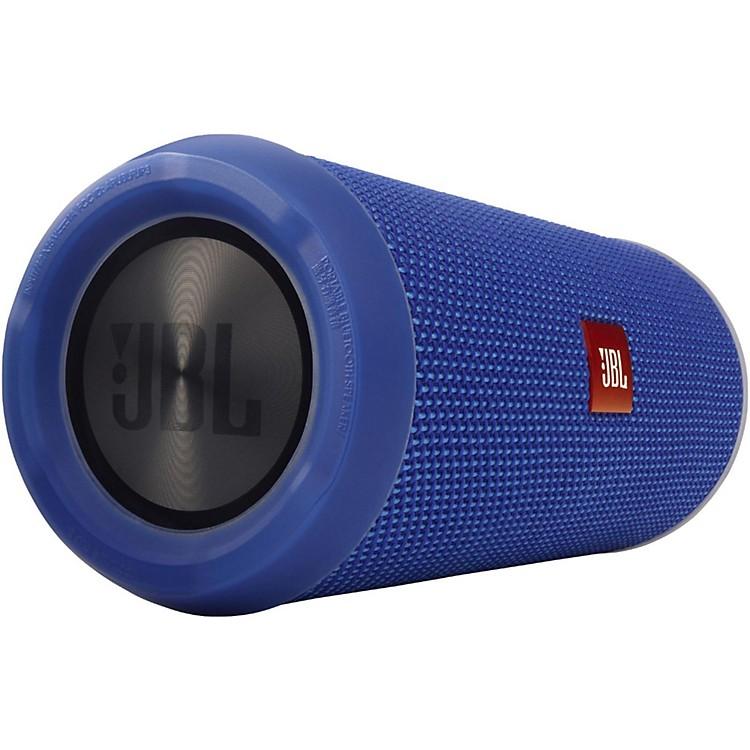 JBLFlip3 Splashproof Bluetooth Wireless SpeakerBlue