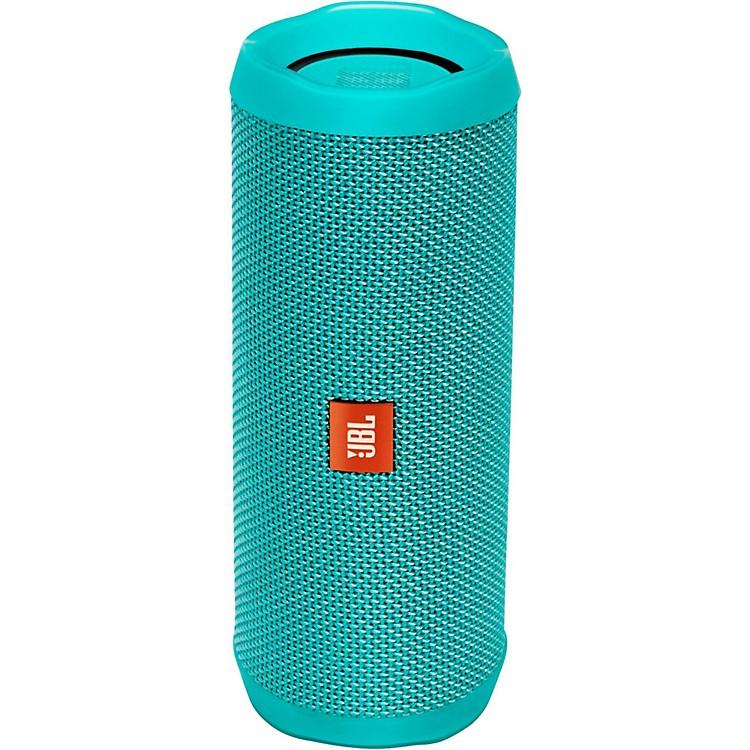 JBLFlip4 Portable speaker with Bluetooth, built-in battery, microphone and waterproofTeal