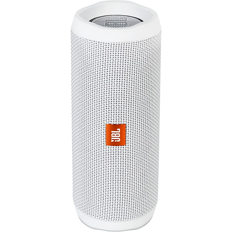 JBLFlip4 Portable speaker with Bluetooth, built-in battery, microphone and waterproofWhite