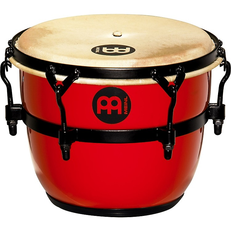 Meinl Floatune Fiberglass Qweeka / Cuica Drum Red 8 In