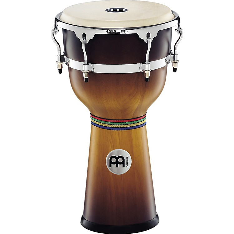 Meinl Floatune Wood Djembe Natural 12 3/4 In