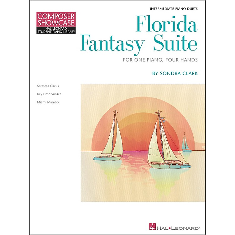 Hal LeonardFlorida Fantasy Suite - One Piano/Four Hands Level 5 Hal Leonard Student Piano Library by Clark