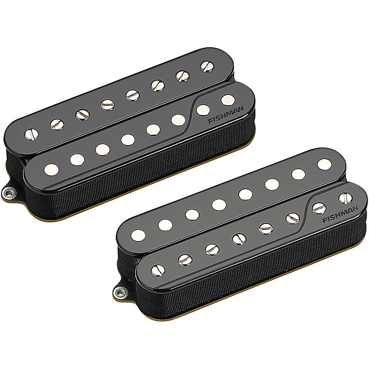 Fishman Fluence Classic Humbucker 8-String Open Core Set of 2 Zebra