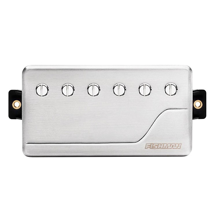 Fishman Fluence Classic Humbucker Bridge Guitar Pickup Brushed Stainless Steel
