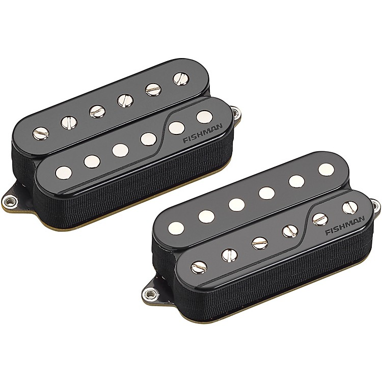 Fishman Fluence Classic Humbucker Open Core Set of 2 Reverse Zebra
