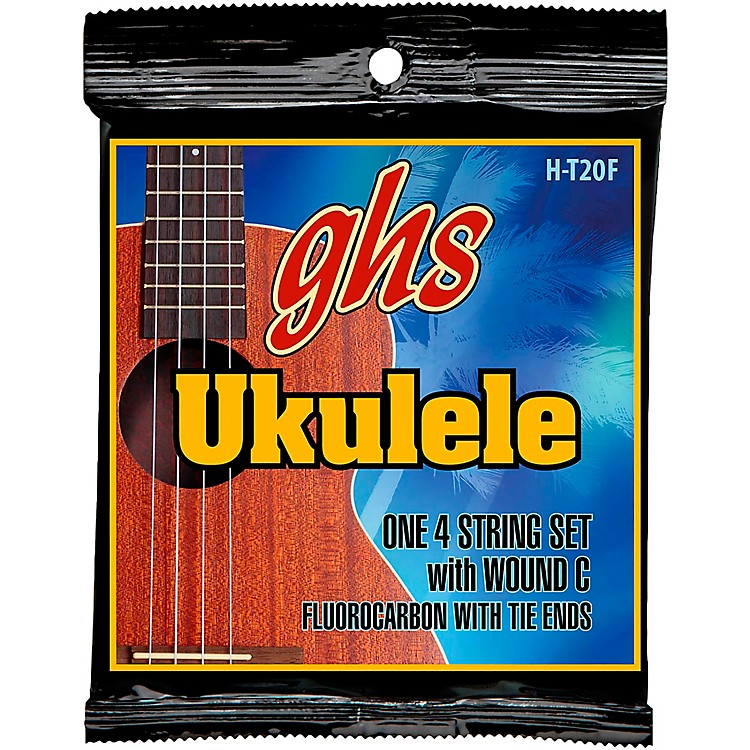 GHSFluorocarbon High Tension Fingerstyle Ukulele Strings
