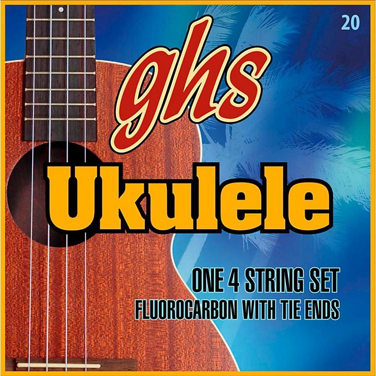 GHSFluorocarbon Soprano/Concert D Tuning Ukulele Strings