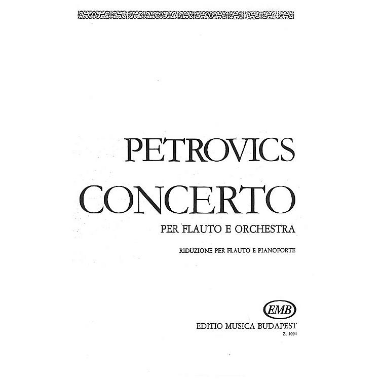 Editio Musica BudapestFlute Concerto EMB Series by Emil Petrovics