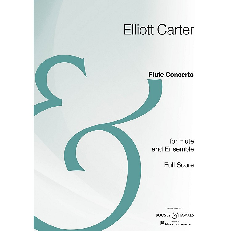 Boosey and HawkesFlute Concerto (Full Score Archive Edition) Boosey & Hawkes Scores/Books Series by Elliott Carter