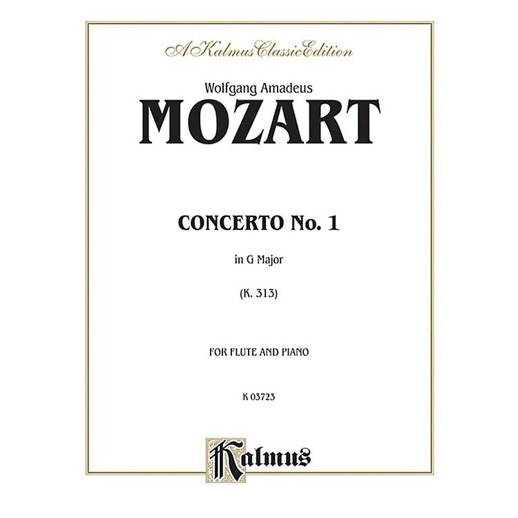AlfredFlute Concerto No. 1 K. 313 (G Major) for Flute By Wolfgang Amadeus Mozart  Book