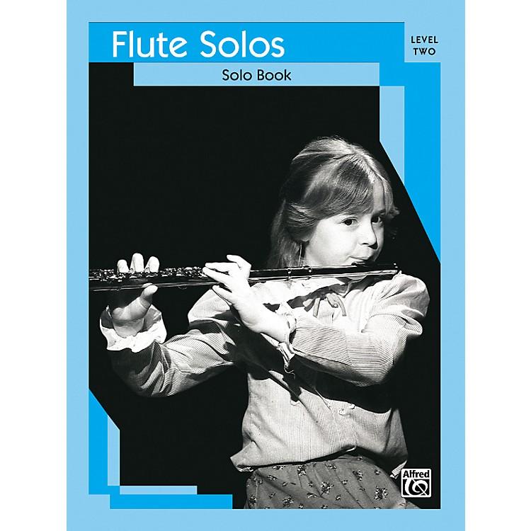AlfredFlute Solos Level II Solo Book