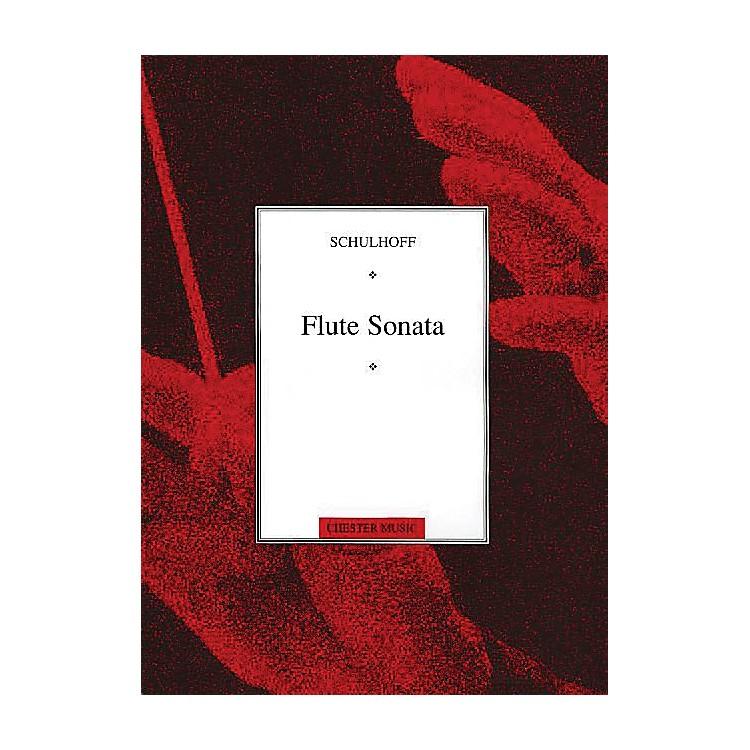 Chester MusicFlute Sonata Music Sales America Series Softcover
