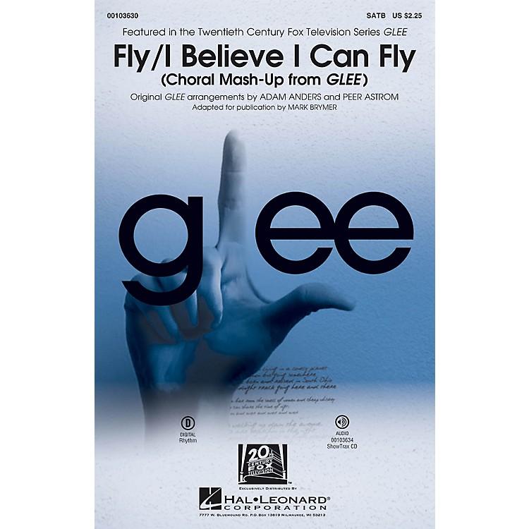 Hal LeonardFly/I Believe I Can Fly (Choral Mash-up from Glee) SATB by Nicki Minaj arranged by Adam Anders