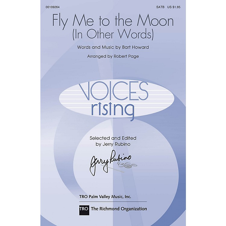 Hal LeonardFly Me to the Moon SATB arranged by Robert Page