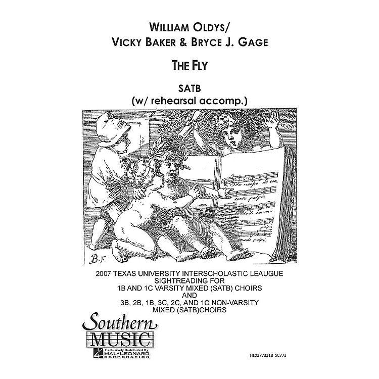 Hal LeonardFly, The (Choral Music/Octavo Secular Satb) SATB Composed by Baker, Vicki