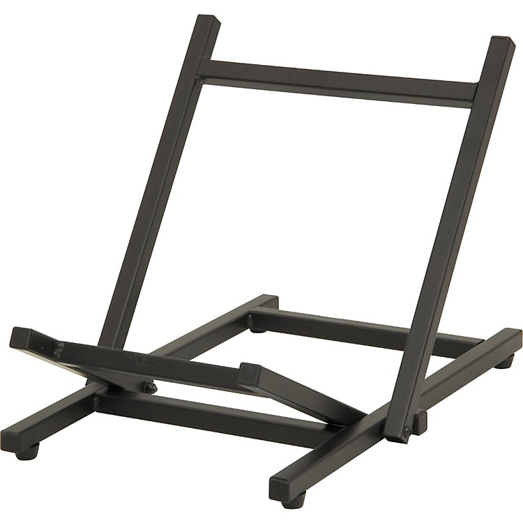 On-Stage Stands Folding Tiltback Amp Stand Black Folds Flat