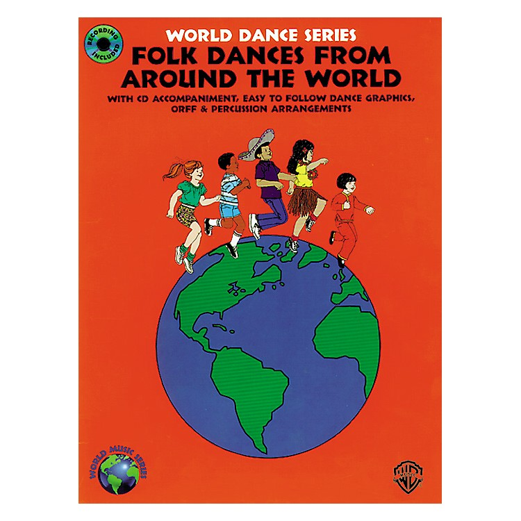 Alfred Folk Dances from Around the World Book/CD