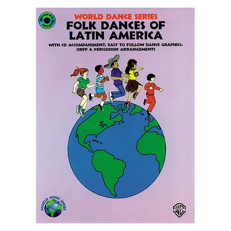AlfredFolk Dances of Latin America Book/CD