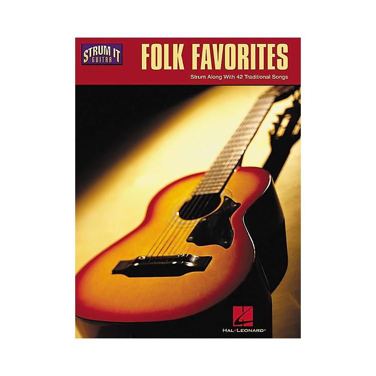 Hal LeonardFolk Favorites Strum It Guitar Book