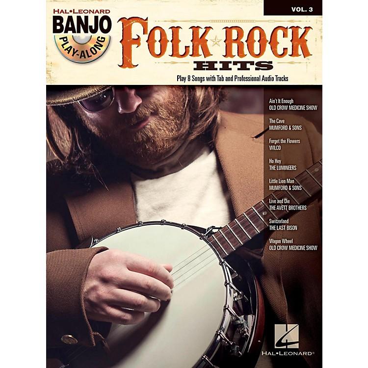 Hal LeonardFolk/Rock Hits Banjo Play-Along Volume 3 Book/CD