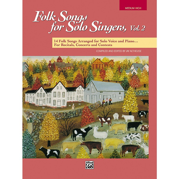AlfredFolk Songs for Solo Singers Vol. 2