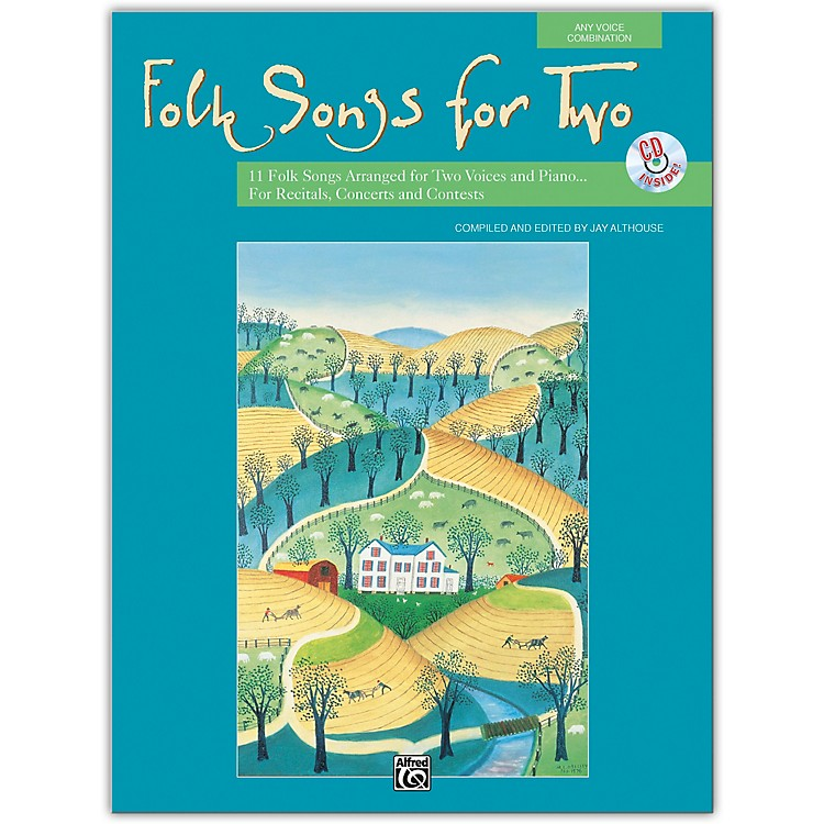 AlfredFolk Songs for Two Book & Acc. CD