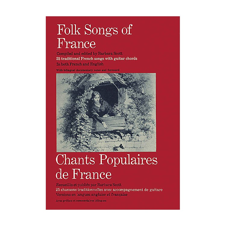 Oak Archives Folk Songs of France Music Sales America Series Softcover