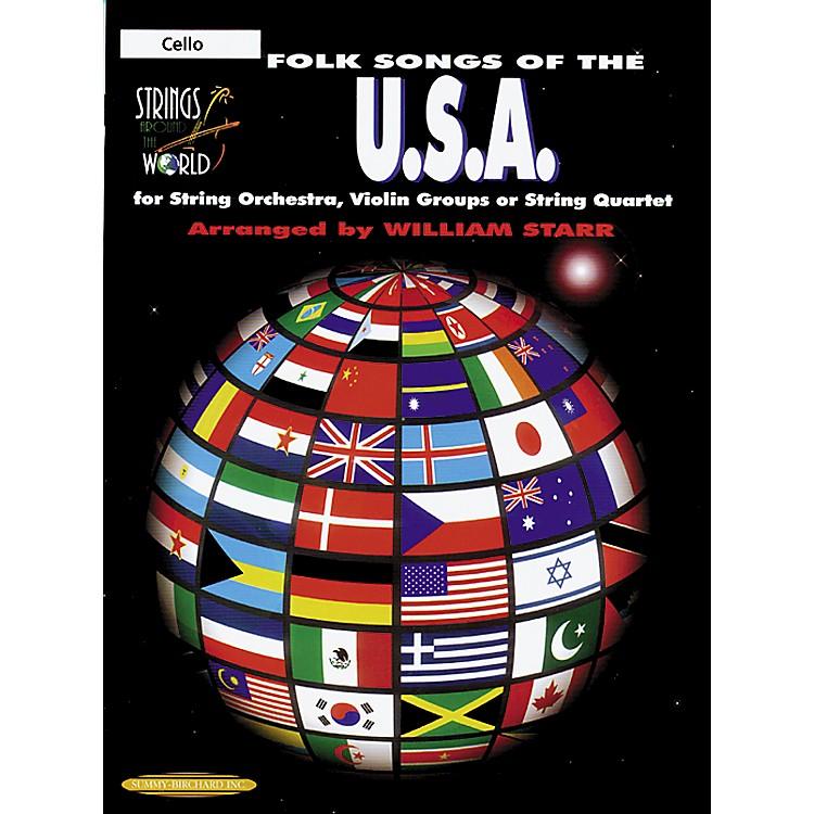 AlfredFolk Songs of the USA Cello (Book)