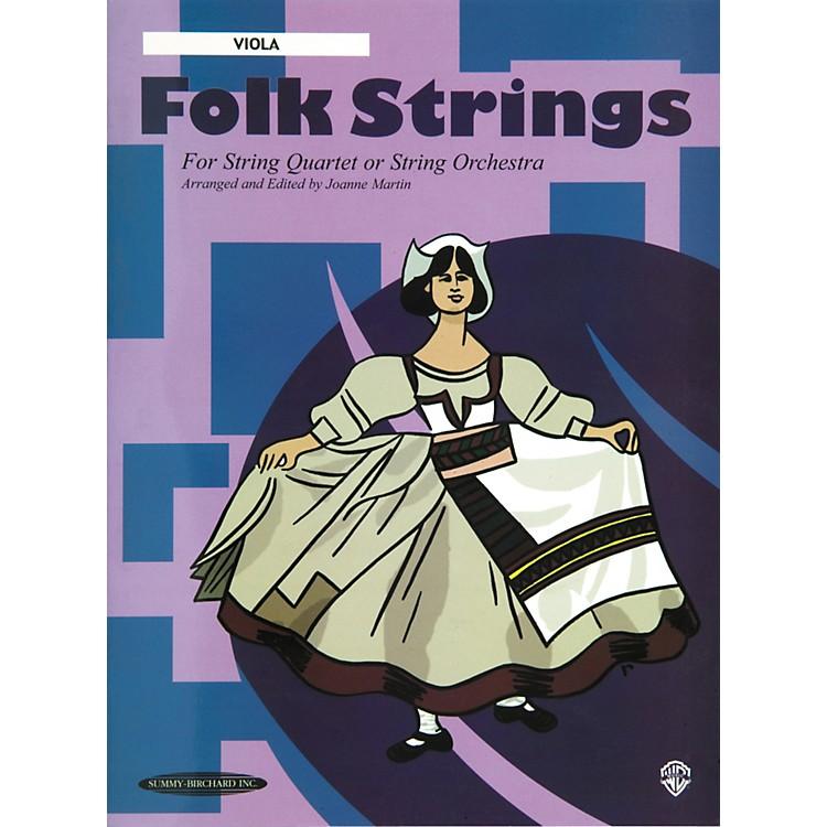 AlfredFolk Strings Viola (Book)