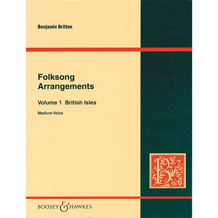 Boosey and Hawkes Folksong Arrangements - Volume 1: British Isles Boosey & Hawkes Voice Series  by Benjamin Britten