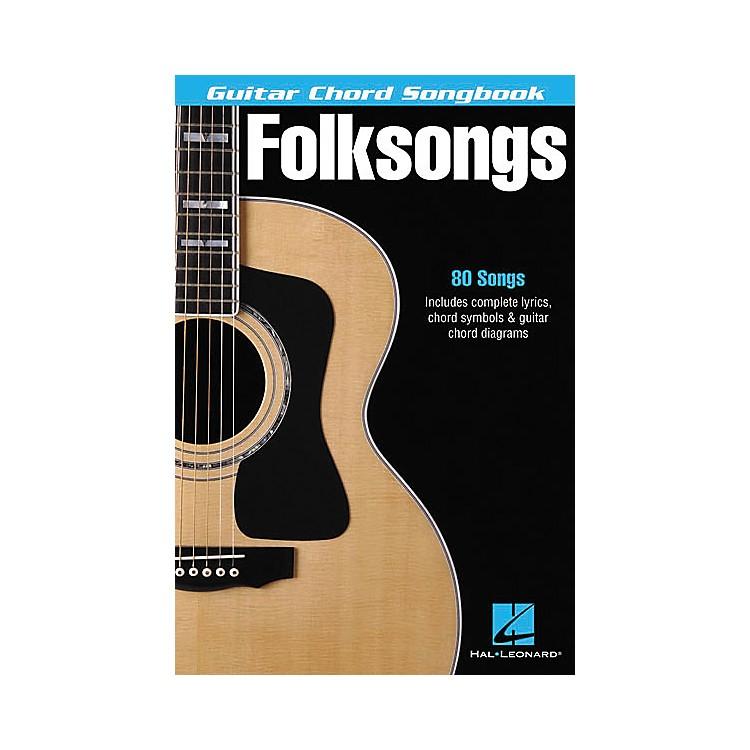 Hal LeonardFolksongs Guitar Chord Songbook