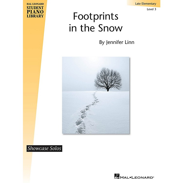 Hal LeonardFootprints in the Snow Piano Library Series by Jennifer Linn (Level Late Elem)