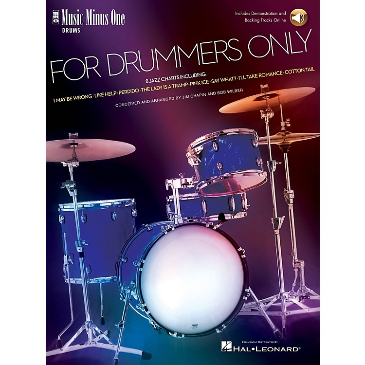 Music Minus One For Drummers Only (Jazz Band Music Minus One Drummer) Music Minus One Series Softcover with CD