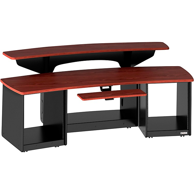 Force 24 Studio Desk Mahogany