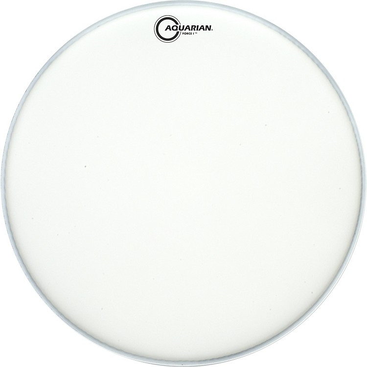 Aquarian Force I Texture-Coated Bass Drum Batter Head Clear 20 in.