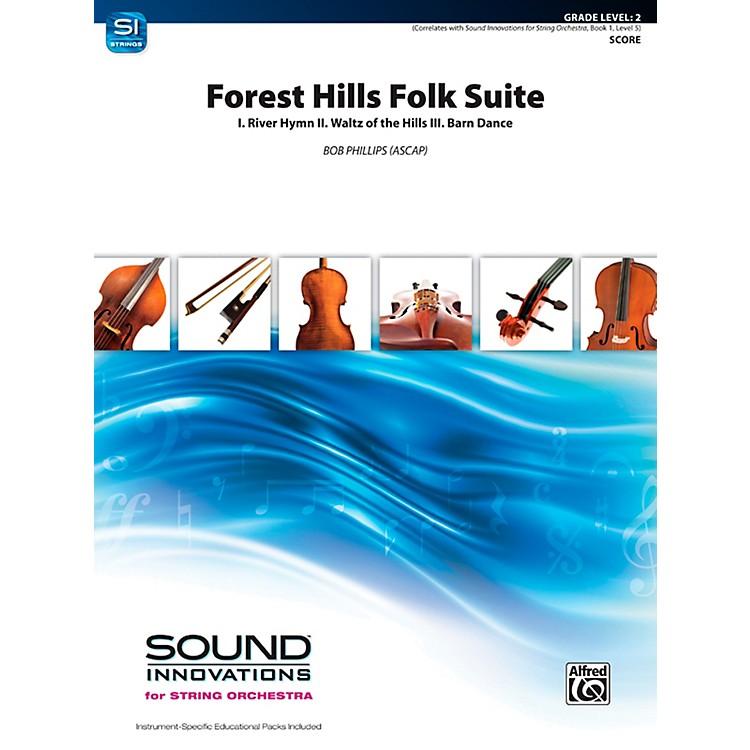 AlfredForest Hills Folk Suite String Orchestra Grade 2 Set