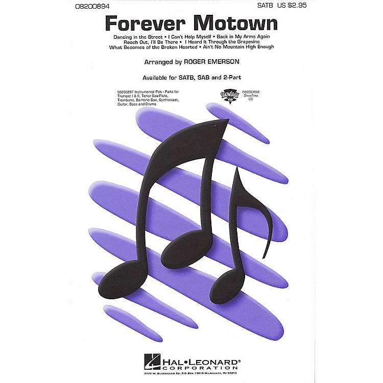 Hal LeonardForever Motown (Medley) ShowTrax CD Arranged by Roger Emerson
