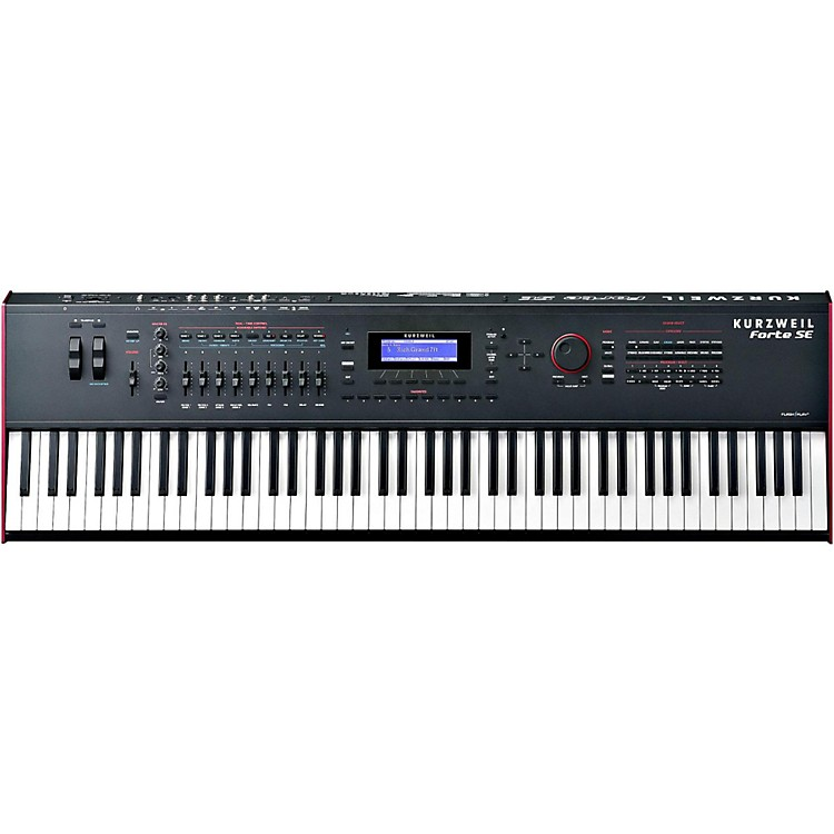 Kurzweil Forte SE 88-Key Piano Black