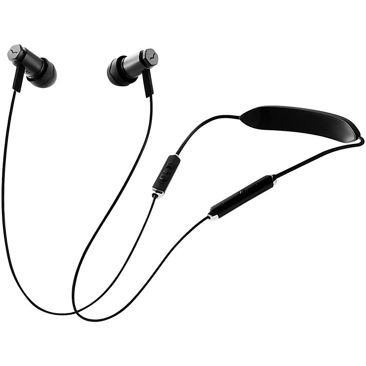 V-MODA Forza Metalla Wireless Bluetooth In-Ear Headphones Black