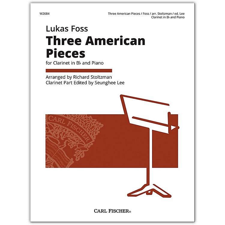 Carl FischerFoss 3 American Pieces