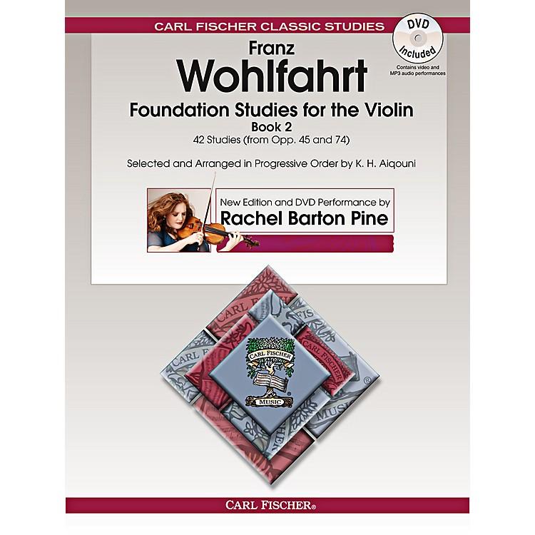 Carl FischerFoundation Studies for the Violin, Book 2 (Book + DVD)
