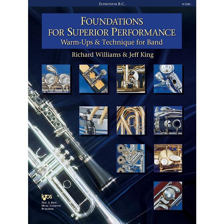 KJOSFoundations for Superior Performance Baritone Bc