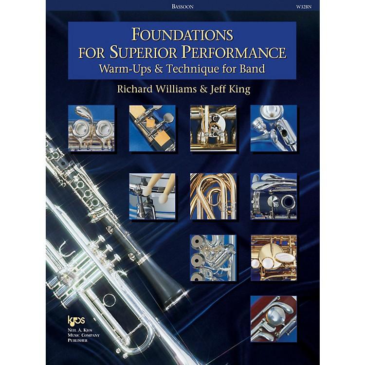 KJOSFoundations for Superior Performance Bassoon